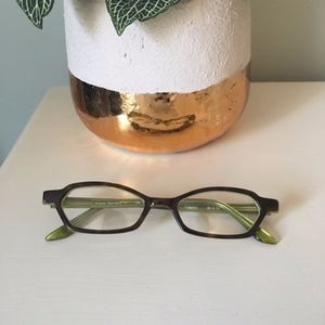 Authentic OGI Heritage Frames in Tortoise & Green